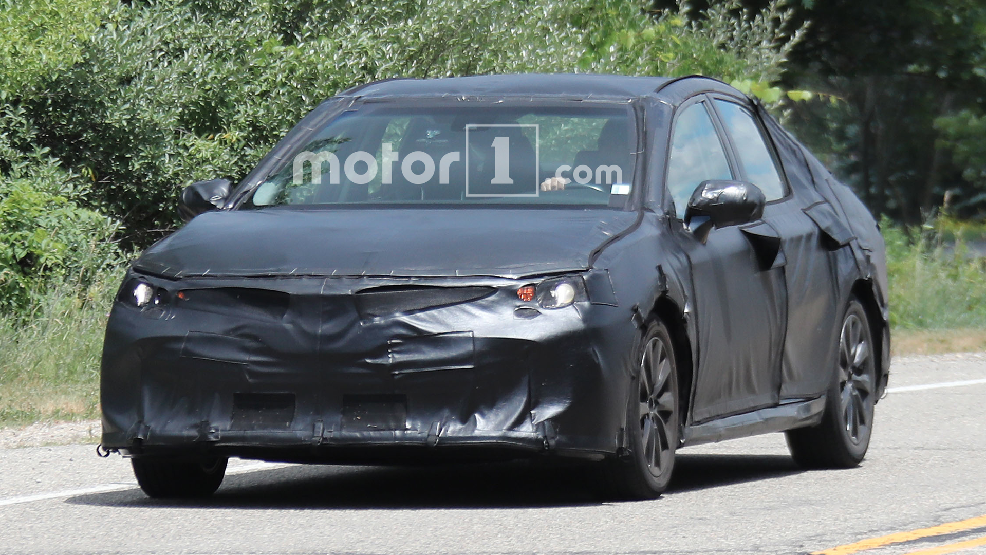 Nextgen Toyota Camry spied looking impressively adequate