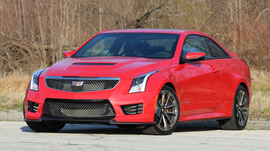 2016 Cadillac ATS-V Coupe Review