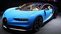 Bugatti Chiron live in Geneva