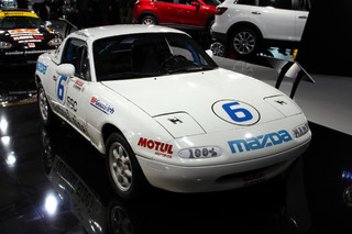 The Best Display in NYC Was a Group of Old Miatas