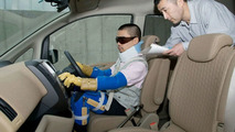 Nissan elderly aging simulation suit