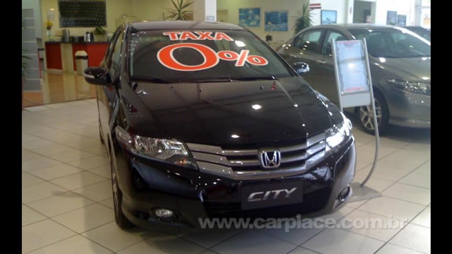 Honda City é vendido com financiamento em 24 vezes com taxa de juro zero
