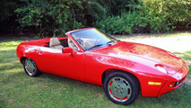 Rare 1981 Porsche 928 Convertible by Carelli Design listed on eBay