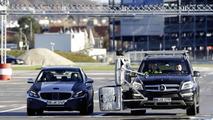 Michael Schumacher tests the 2014 Mercedes C-Class [video]