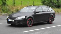 Skoda Octavia RS Plus spy photo