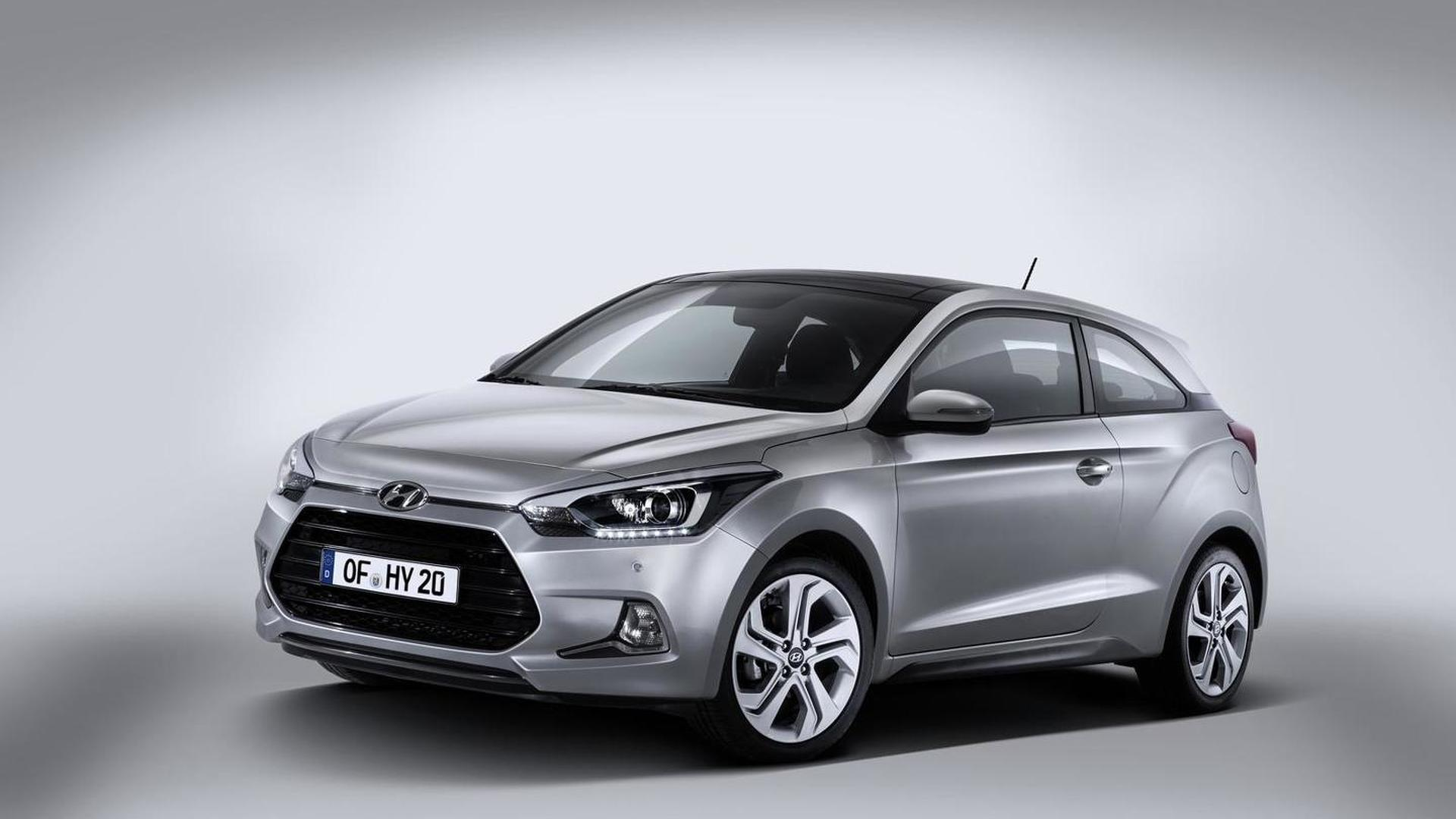 Hyundai i20 Coupe unveiled with sporty looks