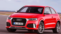Audi RS Q3 facelift rendered without rear doors