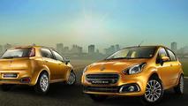 Fiat Punto Evo facelift (Indian-spec)