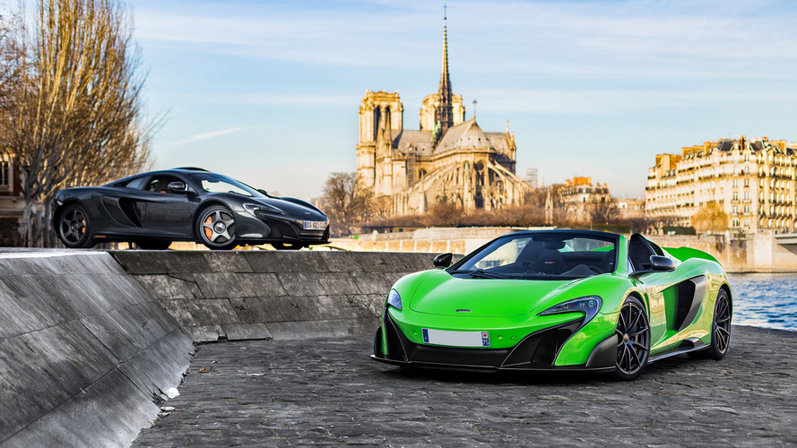 Caught on the Street: Two McLarens in Paris