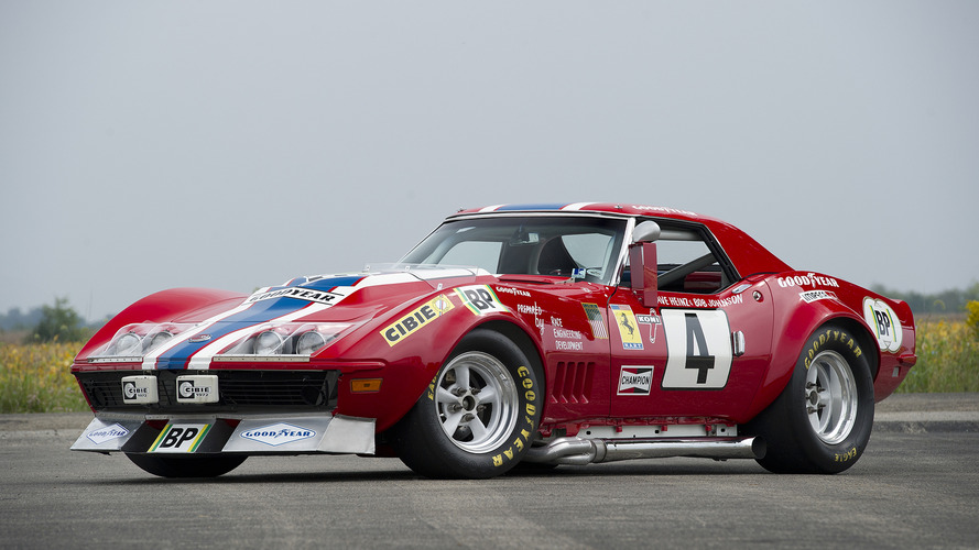 The Corvette that masqueraded as a Ferrari to race at Le Mans