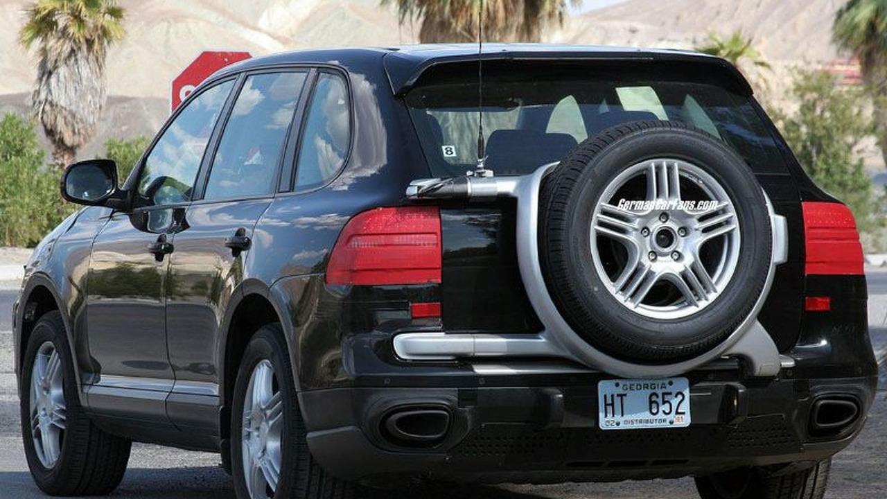 Porsche Cayenne Facelift Spy Photos