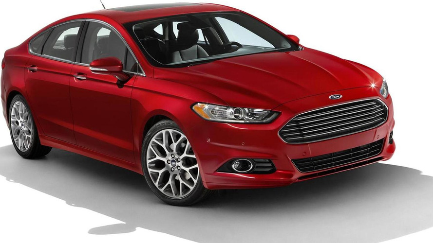2013 Ford Fusion officially revealed