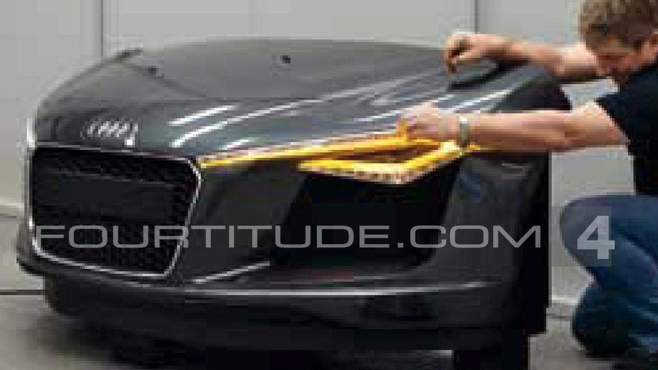 Audi R8 facelift leaked? - 24.8.2011