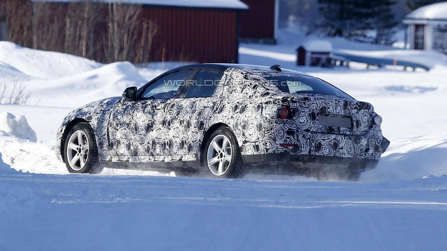 BMW 4-Series GranCoupe spied