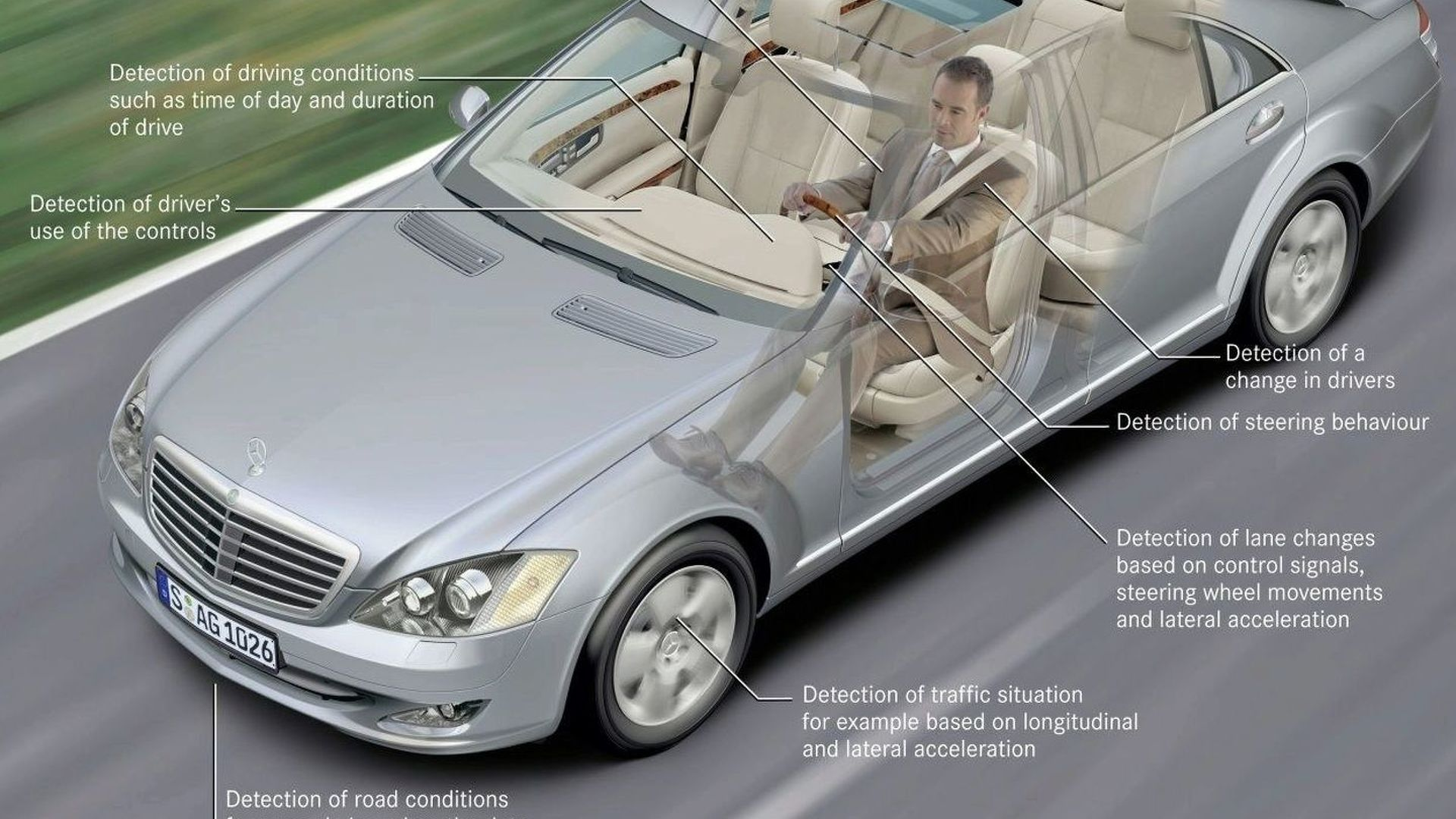 Next-Gen Mercedes E Class to Feature Driver Attention Support System
