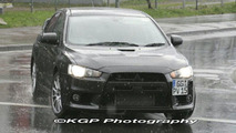 Mitsubishi EVO X Real World Spy Photos