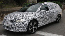 Volkswagen Golf Estate spy photo 27.11.2012