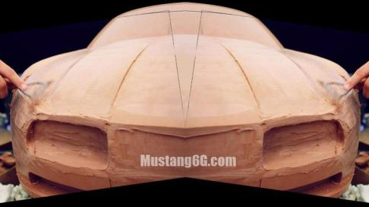 Possible 2015 Ford Mustang clay model / mustang6g.com