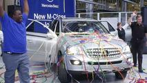 M-Class Job One Rolls off Production Line