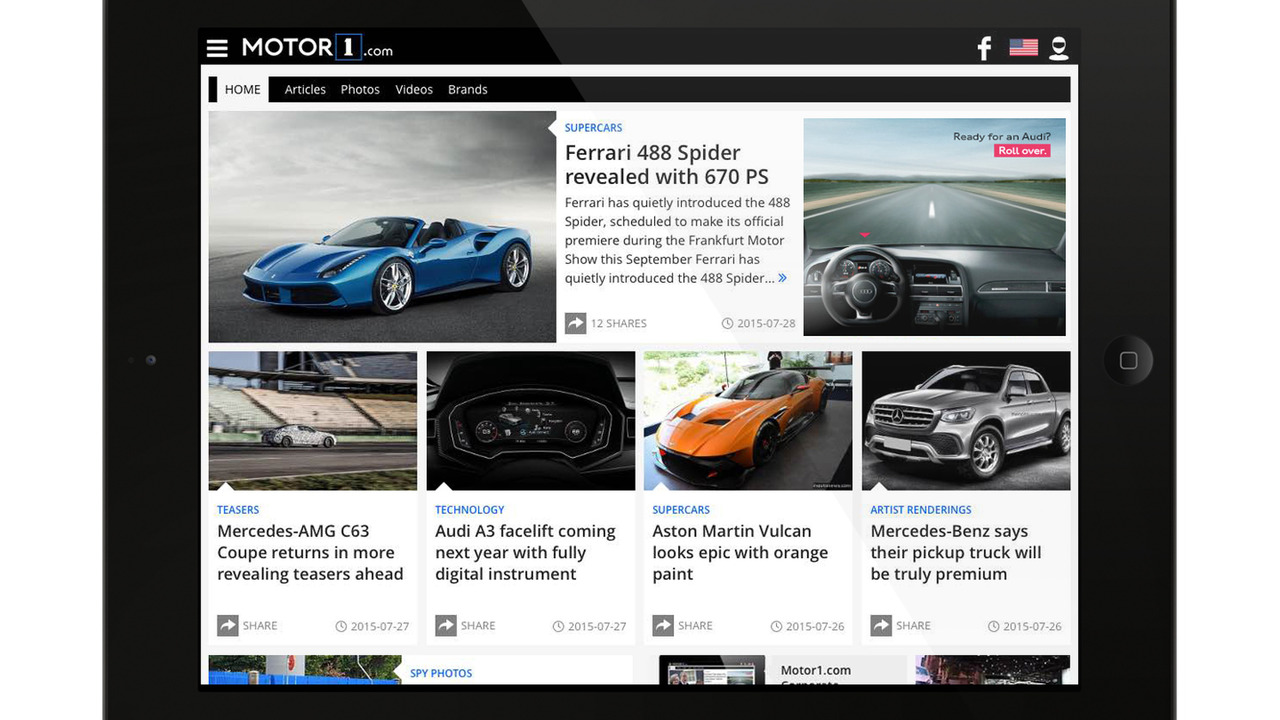 Motor1.com screen shot