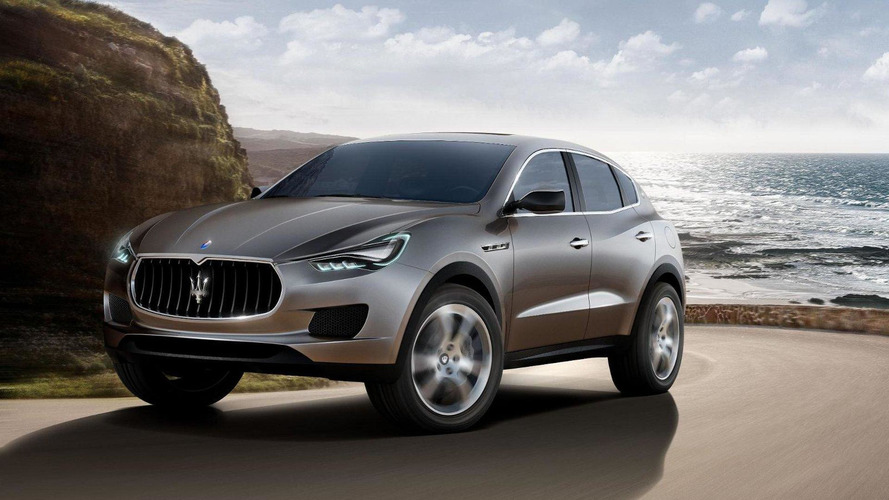2015 Maserati Levante comes into focus