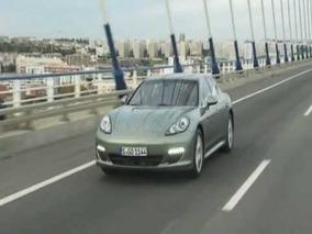Porsche Panamera S Hybrid Driving Footage