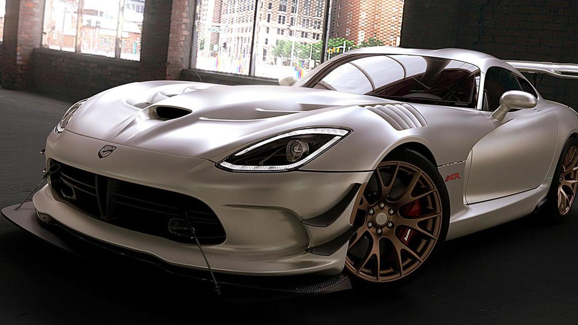 2016 Dodge Viper gains 8,000 new matte paint options
