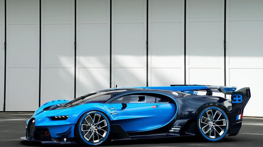Bugatti Vision Gran Turismo unveiled in the flesh