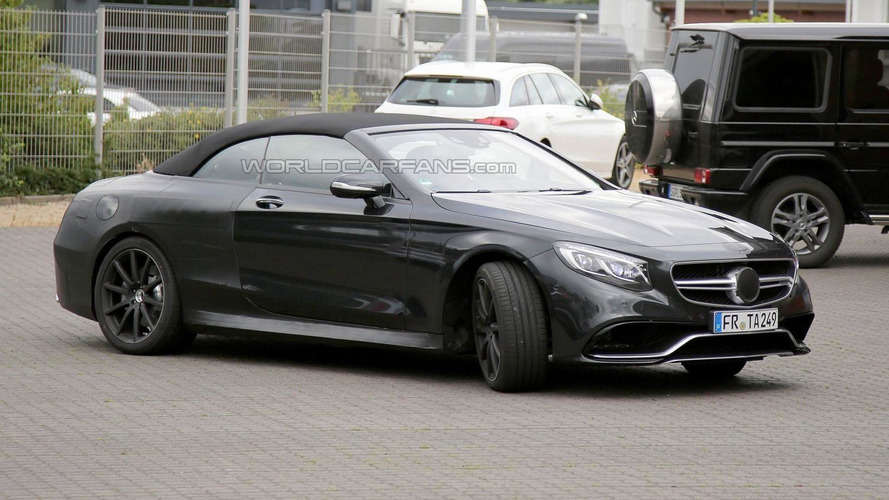 Mercedes S63 AMG Cabrio returns in new spy photos