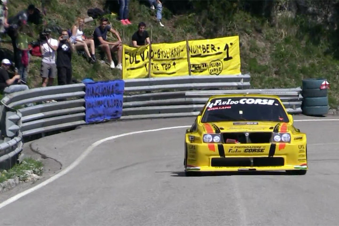 Listen as this 600HP Lancia Rally Car Unleashes its Ponies