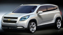 Chevrolet Orlando Concept sketch