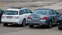 Mercedes-Benz C-Class Estate spied with very little camo