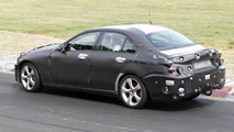 2014 Mercedes C-Class spied at the Nurburgring