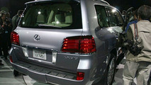 All-New 2008 Lexus LX 570 Debut at NYIAS
