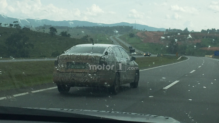 New VW Polo Sedan/Voyage spied for the first time in Brazil