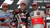 Vettel Wins Japan GP