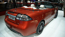 Saab 9-3 facelift unveiled top down in Geneva