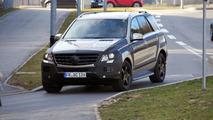 2012 Mercedes-Benz ML prototype spied, 17.03.2011