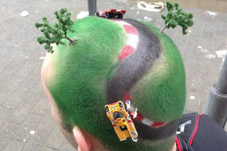 This Man Has the Nurburgring on His Head