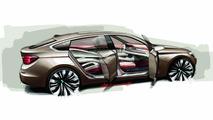 BMW 5-Series GT Concept Sketch