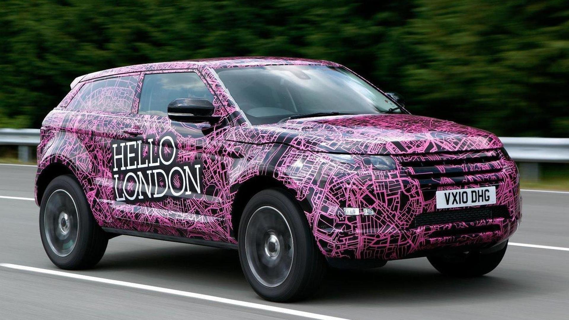 Range Rover Evoque enters final testing stage around the globe [video]