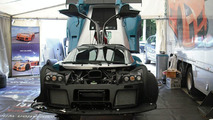 800 horsepower Gumpert Apollo on the track at Monza [video]