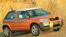 Skoda Yeti Open Roof at Frankfurt