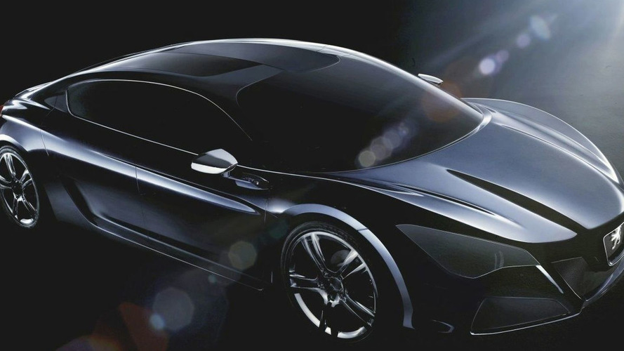 First Pictures of New Peugeot Hybrid Concept Released