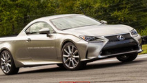 Lexus RC 350 pick-up rendering / X Tomi