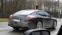 2013 Porsche Panamera Facelift spy photo