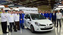 500th And Final Clio Renaultsport 197 F1 Team R27 Rolls Off The Production Line