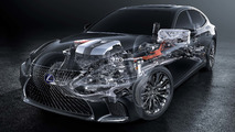 Lexus dévoile une (petite) partie des secrets de la LS hybride