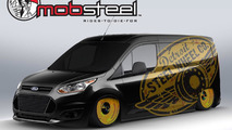 Mobsteel Ford Transit Connect for SEMA 25.10.2013