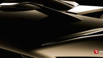 Rezvani Motors Beast teased for a second time, will have a carbon fiber body
